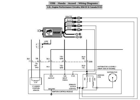 1999 honda accord spark wiring diagram odometer 1995