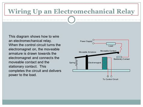 mechanical relay wiring diagram mechanical relay switch