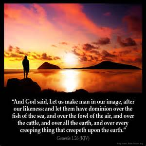 The God Of All Comfort Kjv Genesis 1 26 Inspirational Image