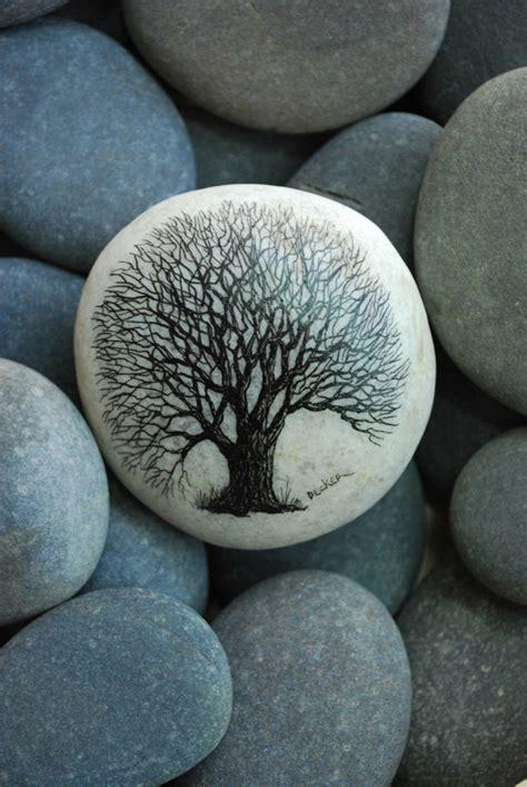 piedra decoracion piedras pintadas para decorar vuestra casa de forma original