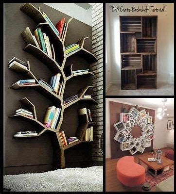 Diy Creative Bookshelves 17 Best Images About Natuurlijk Hout On Pinterest Walnut