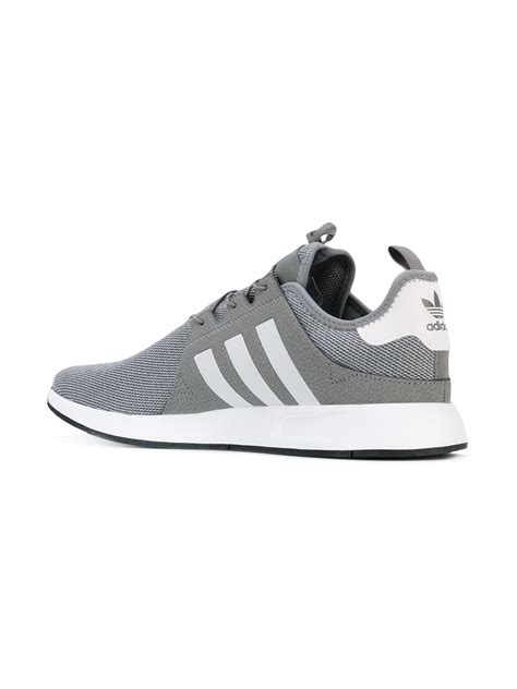 adidas originals x plr sneakers in gray for lyst