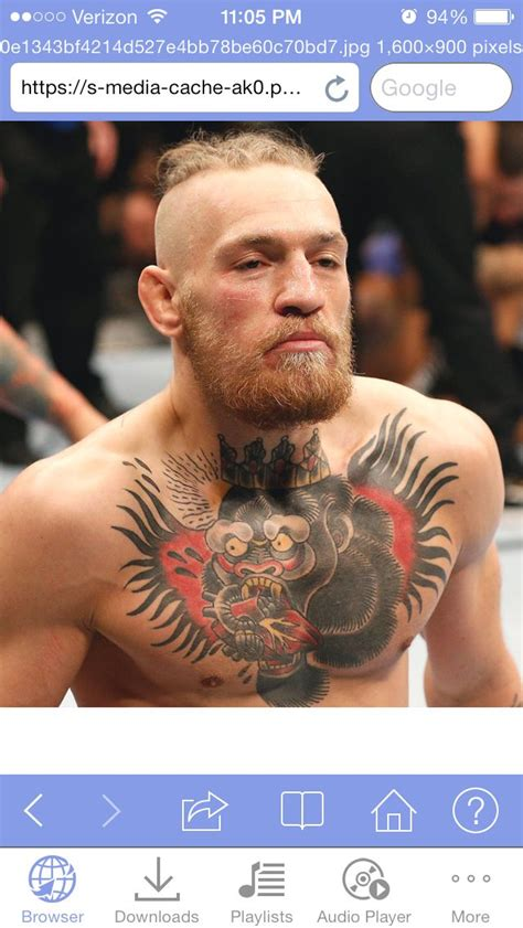 mcgregor tattoo on chest conor mcgregor chest tattoo tattoos pinterest conor