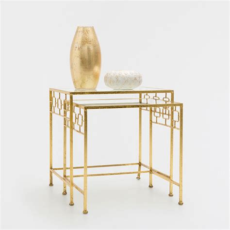 Zara Side Table Nest Of Side Tables Set Of 2 Occasional Furniture Decoration Zara Home Suomi