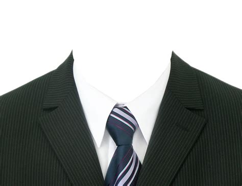 formal attire template suit png image