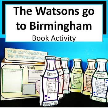 the watsons go to birmingham book report the watsons go to birmingham book in a bottle project by