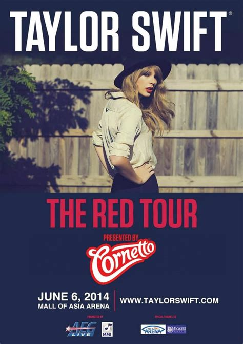 taylor swift tour philippines red tour taylor swift live in manila 2014 manila