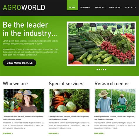 agriculture themes html free download agriculture web template kiwibertyl