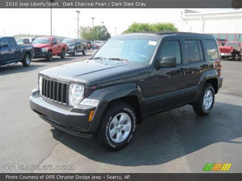 charcoal grey jeep dark charcoal pearl 2010 jeep liberty sport dark slate
