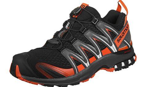Ardilez Marendaz Orange Grey Running Shoes salomon xa pro 3d trail running shoes black grey orange