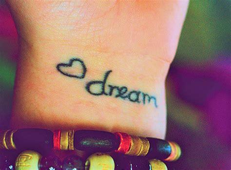 dream tattoo on wrist 43 inspiring wrist tattoos and graphics inspirebee