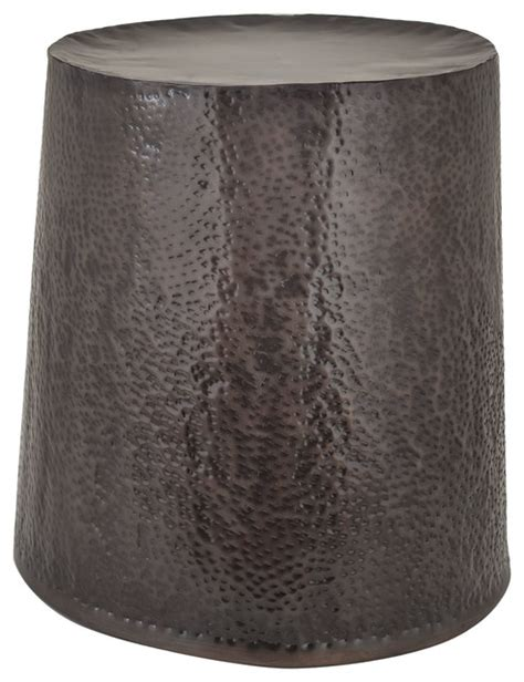 Garden Drum Stool by Dimond Home Bronze Drum Stool Accent And
