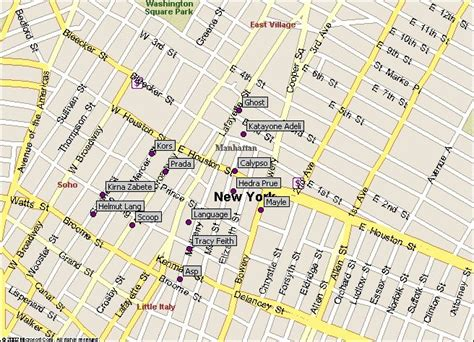where can i buy a map of new york city