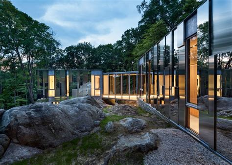 mirrored house the mirror house contemporary design at the heart of