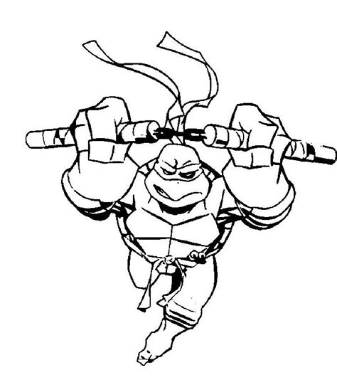 what color is michelangelo turtle coloring pages coloring home