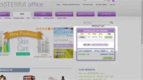 Office Doterra by Doterra Office Redeeming Lrp Points
