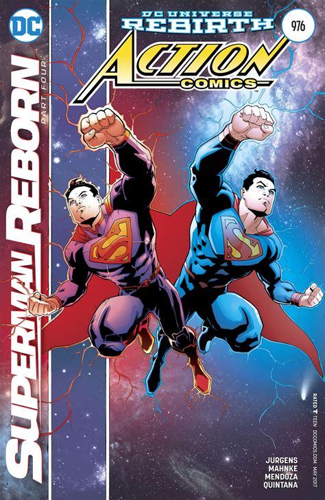 superman reborn action comics b0756pb11j dc comics rebirth superman reborn part 4 finale spoilers review action comics 976 reboots