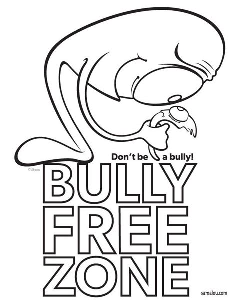 Bullying Coloring Pages Coloring Home Bullying Coloring Pages