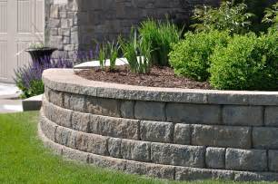 walls retaining wall installation m m landscaping