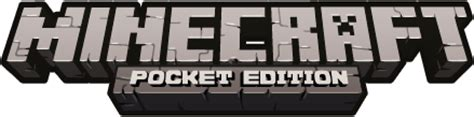 What is the font type of pocket edition text in minecraft pocket
