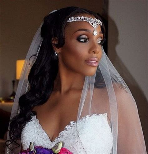 Wedding Hairstyles With Veil And Flower Big by 50 Superb Black Wedding Hairstyles