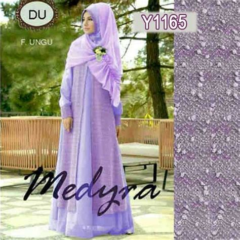 Jilbab Instan Sabrina 3 Layer baju gamis modern medyra y1165 busana muslim pesta