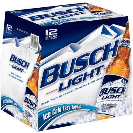 busch light aluminum bottles how much is a 12 pack of busch light bottles