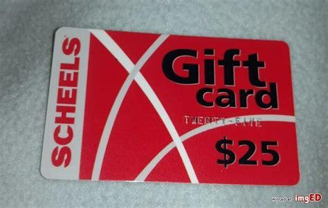 Scheels Gift Cards - 25 scheels gift card online only image on imged