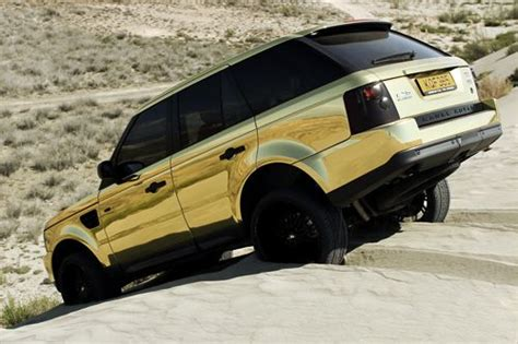 gold chrome range rover fuckyeahthebetterlife i couldn t find a proper caption