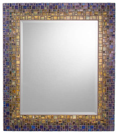 Mosaic Bathroom Mirrors | classic collection mosaic mirrors victorian bathroom mirrors other metro by opus mosaics