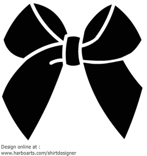 Black Simple Bow ribbon bow black graphic design silhouettes stenciling and cricut