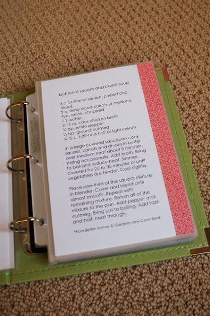 Diy Recipe Book Template all things simple family favorites recipe book