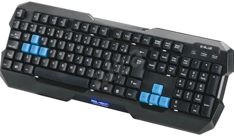 Keyboard E Blue keyboard e blue polygon alzashop