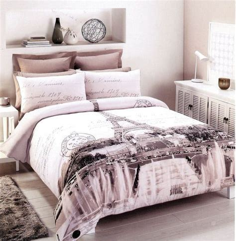 eiffel tower bedroom set paris eiffel tower double full size quilt cover set 250