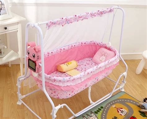 Ayunan Bayi Electric Portable Baby Swing Babydoes intelligent automatic swing baby cradle bed baby crib
