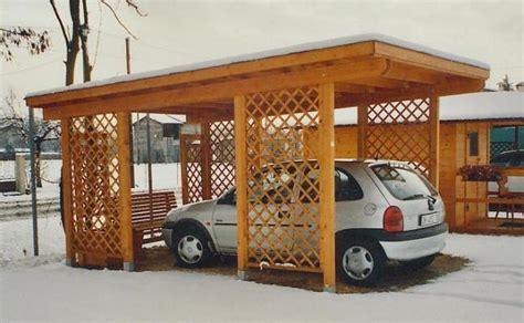 tettoia auto in legno strutture a pensilina per auto