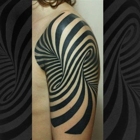 illusion tattoo optical illusion optical illusions