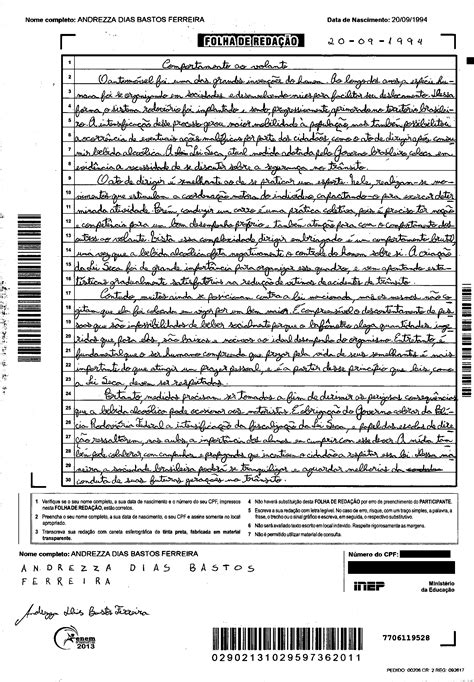 Enem 2013: veja exemplos de redações nota 1000 | UPANEMA NEWS