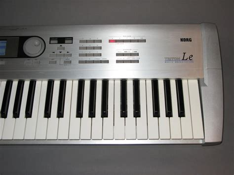 keyboard workstation tutorial korg triton le 61 key workstation electric denim studios