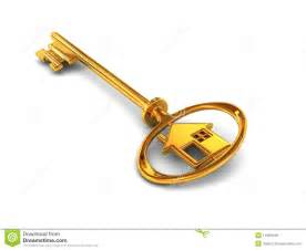 Home Design 3d Rendering gold house key royalty free stock photos image 11991648