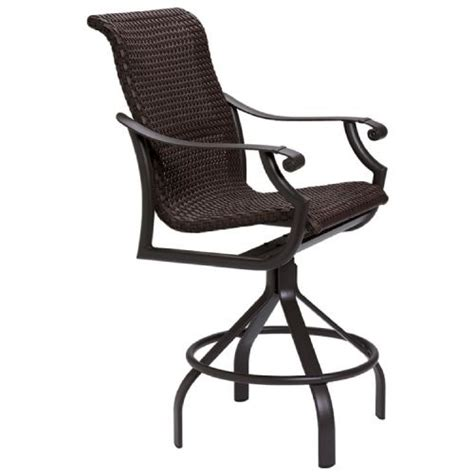 Swivel Bar Stool Replacement Seats by Tropitone Replacement Cushions Montreux Tropikane Woven