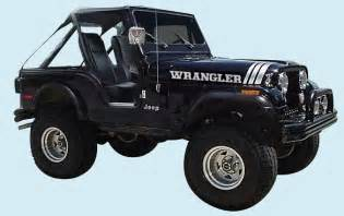 graphix 1970 1997 jeep wrangler decal kit