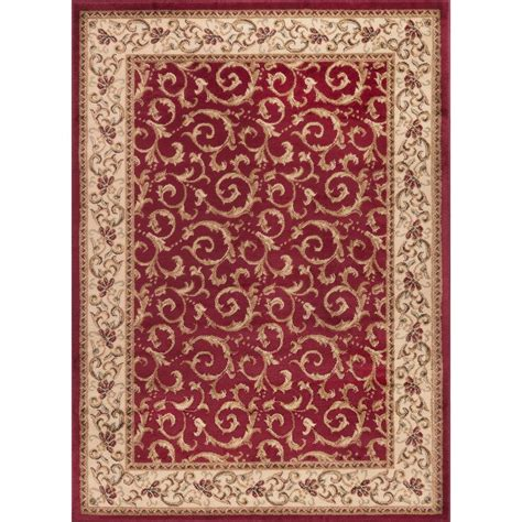 Area Rug 5 X 7 Tayse Rugs Elegance 5 Ft X 7 Ft Indoor Area Rug 5400 5x7 The Home Depot