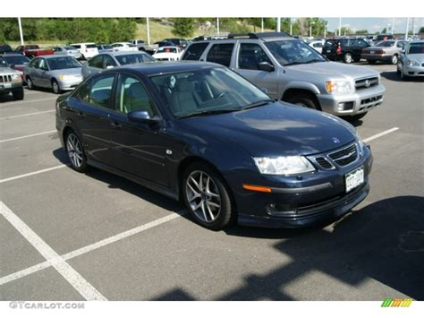 2004 nocturne blue metallic saab 9 3 aero sedan 51133890