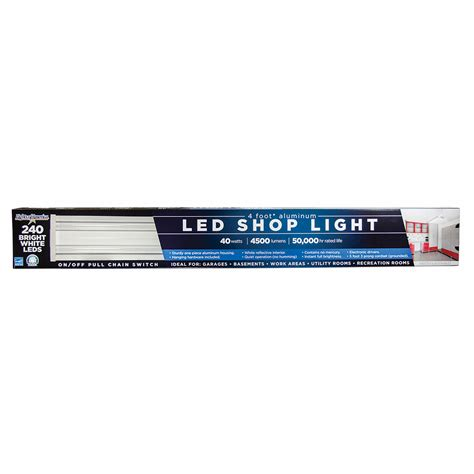lights of america led shop light lights of america led utility shop light bj s wholesale