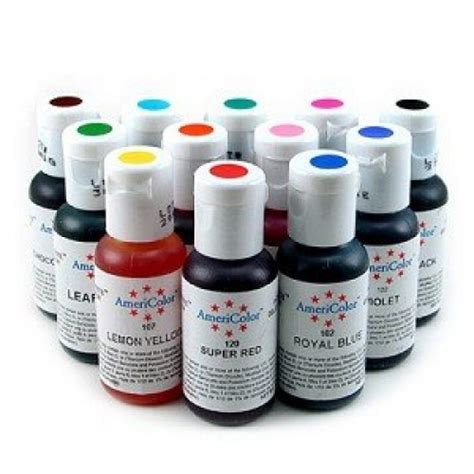 based food coloring americolor student kit soft gel food colouring 12