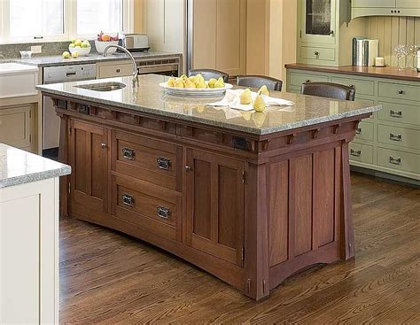 Mission Oak Kitchen Cabinets Custom Kitchen Islands Kitchen Islands Island Cabinets