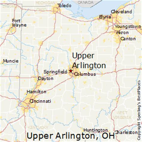 zip code map upper arlington ohio best places to live in upper arlington ohio