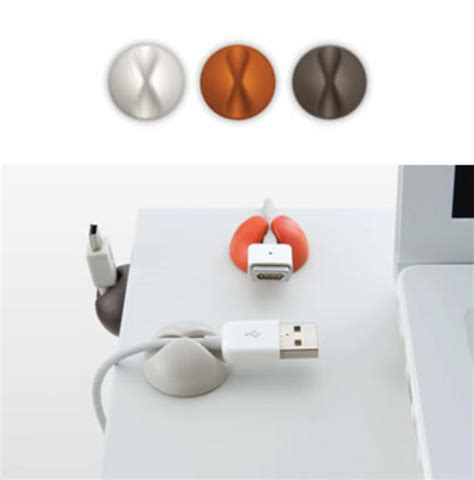 Keep Cables From Falling Desk by Other Cables Adaptors Stop Those Cables Falling