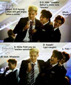 All about exo meme 1